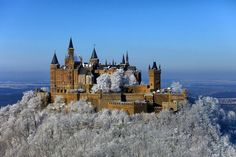 Burg Hohenzollern - we had fun running down the hills!