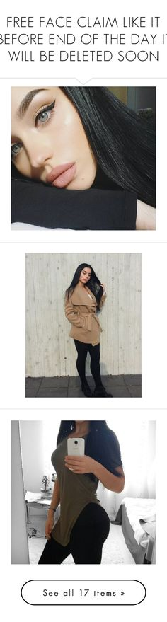 """""""FREE FACE CLAIM LIKE IT BEFORE END OF THE DAY IT WILL BE DELETED SOON"""" by wolves-without-teeth ❤ liked on Polyvore"""