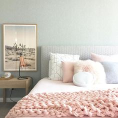 The colour of the new @becjudd throw from @adairs is just stunning #homewares #throw #pink #interiors #interiorinspo #interiordecor #interiordecorating #interiorstyling #bed #bedroom #bedroominspo #bedroomdecor #bedroomdecorating #home #homelove #homedecor #homedecorating