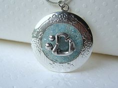 Mothers Day Gift Picture Locket New Mom Jewelry Mother Son