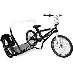 """So cool! Sidehack/sidecart.  20"""" Impakt Sidehack BMX Bicycle"""