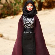 World, meet @Hijarbie, the Instagram account showcasing ~baller~ hijab fashion on none other than Barbie herself.