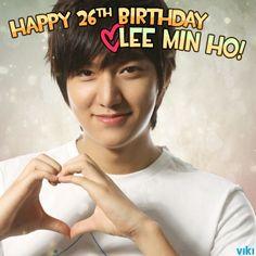 Happy Birthday Lee Min Ho : Jun 22 (1987)