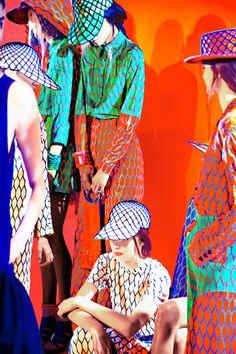 Kenzo Spring Summer 2012 (13 of 17) [img src: Erik Madigan Heck - maisondesprit.com]