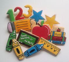 Teacher Appreciation Cookies | Flickr - Photo Sharing!http://customcookiesbyjill.com/