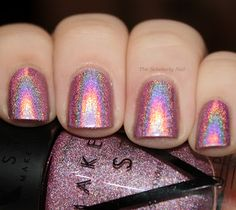 Make Up Store 'Britta' (and Jacqui explains best-practices for using holo polishes, worth a read!)