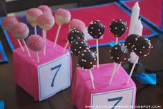 CLEAN FREAK: {clean} Chocolate Cake Pops