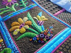 Wow. Follow the link back to see the amazing quilting on this!