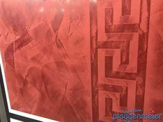 Kalkputz mit gewachster Oberfläche - Gestaltung ist Trumpf beim Wunaschmaler: Bremer Altbautage Trends, Table Lamp, Curtains, Shower, Paper, Home Decor, Wall Design, Creative, Rain Shower Heads