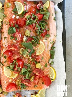 Salmon Dishes, Fish Dishes, Main Dishes, Food Lists, Fish And Seafood, Tuna, Italian Recipes, Good Food, Food And Drink
