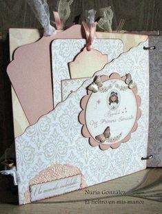 Baby Scrapbook Pages, Mini Scrapbook Albums, Mini Albums, Envelope Book, Step Cards, Interactive Cards, Baby Album, Scrapbook Embellishments, Handmade Books
