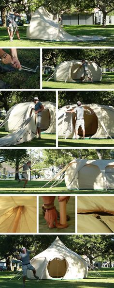 Lotus Belle Tents + Assembly (NOTCOT)