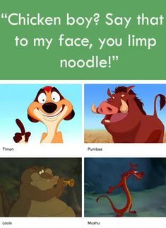 Can You Match The Quote To The Disney Sidekick? 21 Quizzes For Anyone Who Thinks They Know A Lot About Disney Movies Disney Sidekicks, Disney Movies, Disney Buzzfeed, Chicken Boy, Timon And Pumbaa, Quizzes, Scooby Doo, Fan, Memes