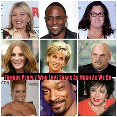 Daytime Soap News: 15 Famous People Who Love Soaps As Much As We Do – Snoop Dogg, Julia Roberts, Princess Diana And More!