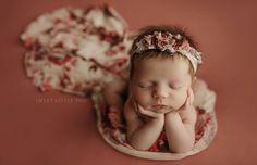 Pink newborn photography girl spring flowers Photography Business, Newborns, Newborn Photos, Spring Flowers, Newborn Photography, Photo Ideas, Babies, Pink, Inspiration