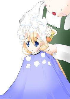 Anime Haircut, Shaved Hair Cuts, Princess Peach, Haircuts, Hair Beauty, Drawings, Pink, Fictional Characters, Color