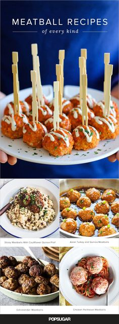 Meatball Recipes of Every Ilk (Asian, Italian, All-American, and More)