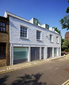 MEWS HOUSE PRIMROSE HILL, London, 2013 - Robert Dye Architects