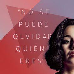 Porque siempre habrá alguien que te lo recuerde. #laschicasdelcable Lidia Aguilar Netflix Series, Series Movies, Tv Series, Queen Quotes, Girl Quotes, Love Movie, Movie Tv, Positive Vibes, Positive Quotes