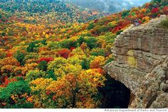The Orzarks in Arkansas. I once lived an hour from this spot and went on many Sunday drives. It was one of the best years of my life!