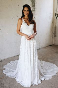 def2b7ed4b Elegantly Romantic Grace Loves Lace Wedding Dresses for Valentine s Day