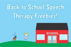 Back to School Freebies. Communication Window has compiled a load of FREEBIES. Good stuff! Pinned by www.presechoolspeechie.com