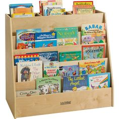 Display & Store Mobile Book Cart at SCHOOLSin