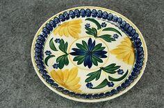 """Societe Ceramique Maestricht Porcelain Hand-painted 6"""" Saucer C. 1890s"""