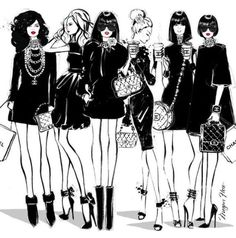 #fashionillust #fashion #illustration #meganhess
