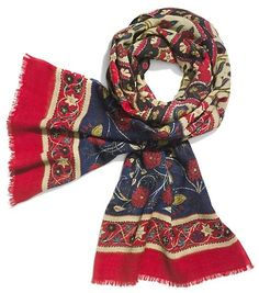 Tory Burch Tapestry Printed Scarf