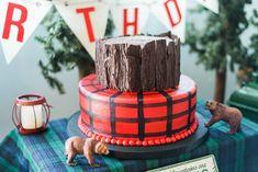 Lumberjack birthday party Henry Photography