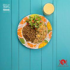 ¿Ya sabes cómo armar un plato balanceado? Envíanos tus fotos con el #Alalcancedetusmanos y participa por 3 canastas de productos Nestlé y 2 Libros de cocina.