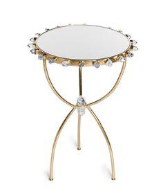 Lola quartz side table from Emporium Home
