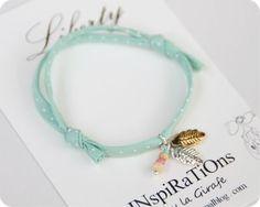 Cute bracelet // Dulce pulsera colores pastel