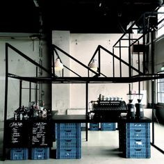 Kaffee Fabrik is a pop up coffee bar.