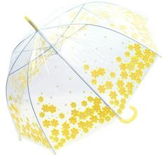 Whoops-a-Daisy yellow  umbrellas