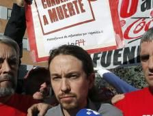 La formación de Pablo Iglesias supera el 28% en intención de voto, por tercer mes consecutivo. Detrás está el PSOE, con un 23,5% y el PP, con poco más del 19%. Ciudadanos crece a costa de ambos partidos, según Metroscopia