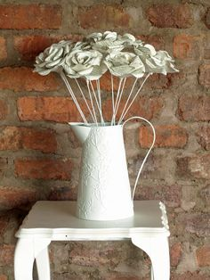 Book Print Roses - Great for decor.  Surprisingly long lasting!