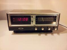 Zenith Circle of Sound H472W Alarm Clock Radio Space Age Omnidirectional ~VIDEO!