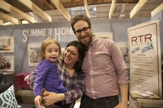 Love seeing people come out to apply to Summer Home at the Spring Cottage Life show.