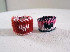 Valentine heart rings <3