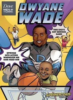 Dwyane Wade Superhero Dads