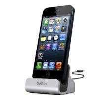Belkin F8J045BT Station de charge et de synchronisation avec connecteur Lightning pour iPhone 5, iPhone 5S, iPhone 5C, iPod Touch 5 G, iPod nano 7G:Amazon.fr:Image & Son Micro & Photo