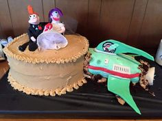 'Futurama' cake