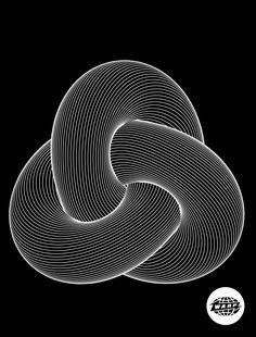 Notational: dvdp: Warp x davidope T-shirt . Cool Optical Illusions, Art Optical, Graphic Design Fonts, Graphic Art, Math Art, Illusion Art, Psychedelic Art, Geometric Art, Op Art