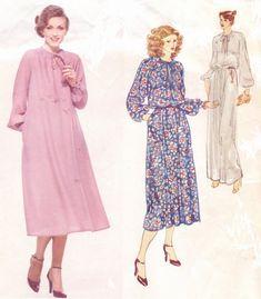 1970s Don Sayres Womens Pullover Blouson Boho Bias by CloesCloset