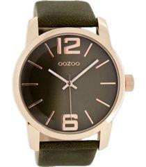 Oozoo dames horloge C6718 darktaupe 45mm €39,95