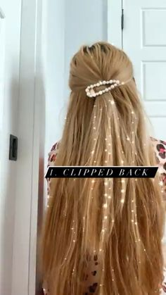 Half Updo Hairstyles, Travel Hairstyles, Long Bob Hairstyles, Headband Hairstyles, How To Dye Hair At Home, Curly Hair Styles, Natural Hair Styles, Cute Hair Colors, Cute Everyday Hairstyles