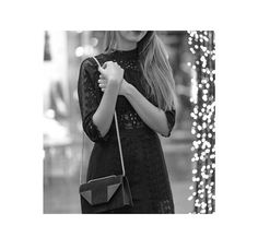 Amazing black dress from Norwegian designer Pia Tjelta by Timo and gorgeous bag from Saint Laurent #inlove