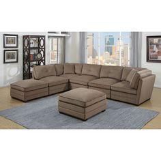 Sofa Table Barrington Fabric Sectional